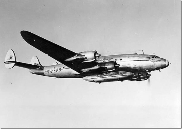 Lockheed Constellation 749 VH-EAB