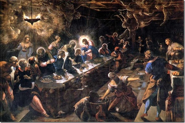 tintoretto last supper essay An essay or paper on the theory of the last supper by jacopo tinteretto jacopo tintoretto (1518-1594) was considered to be the greatest mannerist painter in venice.